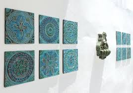 ceramic wall decor ceramic wall art interesting tiles garden decor with ethnic designs garden art ceramic