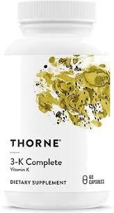Thorne <b>3</b>-<b>K Complete 60 капсул</b> (THR-00661). Купить в Киеве, в ...