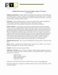 Generous Resume Cover Letter Adjunct Professor Ideas Entry Level