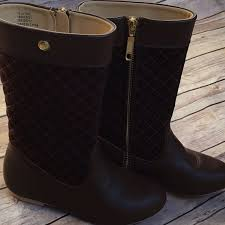 75% off Janie and Jack Other - Janie & Jack brown quilted riding ... & Janie & Jack brown quilted riding boots Adamdwight.com