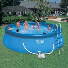 The Intex Inflatable Pool
