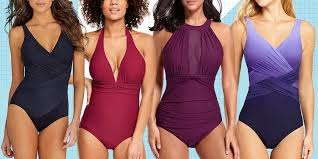 Designer Swimsuits For Large Busts 13 Slimming Swimsuits Best Figure Flattering Bathing Suits