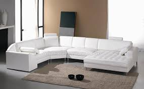 Gorgeous White Leather Sectional Sofa With Chaise Best Images About  Sectionals On Pinterest Sectional Couches