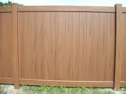 brown vinyl fence. Brown Vinyl Fencing Fence