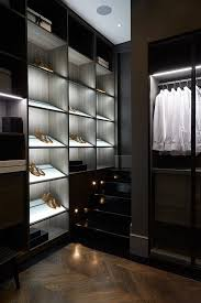 home interior inspiring closet lighting ideas luxury walk in closet decor idea with recessed led
