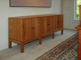 cherry sideboard  soft decorating
