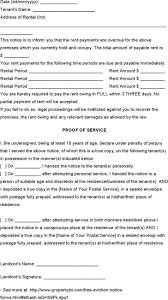 50 Notice Template Free Download
