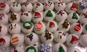 christmas cake balls. Unique Balls Christmas Cake Balls Inside Cake Balls E