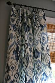 creative of blue and white patterned curtains inspiration with best 25 grey and white curtains ideas