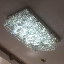 Us 7378 15 Offneue Design Rechteck Kristall Kronleuchter Decke Leuchten Ac110v 220 V Lustre Led Foyer Lichter In Kronleuchter Aus Licht