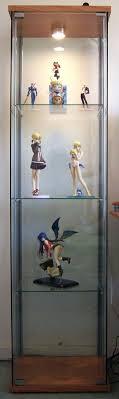 solid detolf glass door cabinet ikea detolf glass display cabinet light curio brown door with in