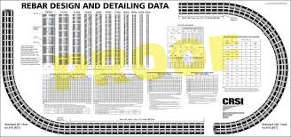 Rebar Design And Detailing Data Chart Blog Archives Modseven