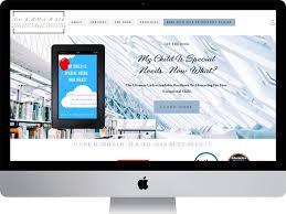High End Website Design Ilene B Miller M S Ed Luxury Website By Nicole Faith On