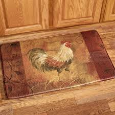 Kitchen Floor Pads Rooster Kitchen Collection Touch Of Class