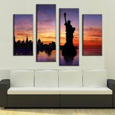 Wall Art Sets For Living Room Statue Of Liberty Art Set Promotion Shop For Promotional Statue Of