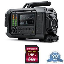 Blackmagic Design Ursa 4k V2 Blackmagic Design Ursa Mini Pro 4 6k Cinema Camera W Memory Card Renewed