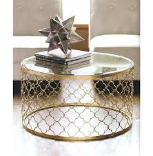 gold and glass coffee table design ideas remodel decoration round canada