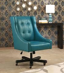 logan office chair blue