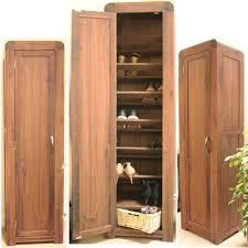 strathmore solid walnut furniture shoe cupboard cabinet. Strathmore Solid Walnut Furniture Tall Shoe Cupboard Cabinet H