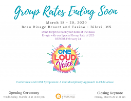 CHILDREN'S ADVOCACY CENTERS OF MISSISSIPPI TO HOST ITS 7TH ANNUAL ONE LOUD  VOICE CONFERENCE - The Clinton Courier