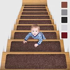 Bei benuta erhalten sie viele teppiche zu einmalig günstigen preisen. Amazon De Mbigm 15er Set Stufenmatten 20 Cm X 76 Cm Treppenteppich Selbstklebend Sicherheit