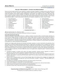 Sample Resume Of A Project Manager Best Of Resume Template Project Manager Download Project Manager Resume