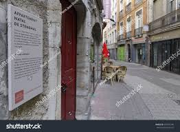 grenoble birth stock photo  grenoble 26 2017 birth house of stendhal in grenoble