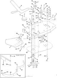 Ariens 915069 005000 019999 mini zoom 1534 parts diagram for diagram 34 mower deck
