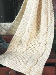 Cable Knit Scarf Pattern Stunning Popcorn Cables Scarf Knitting Free Patterns