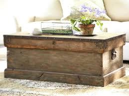 oak trunk coffee table s oak trunk coffee table restoration hardware