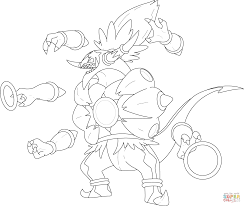 Hoopa Unbound coloring page | Free Printable Coloring Pages