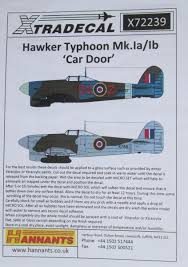 x72239 1 72 hawker typhoon mk ib car door decals 11