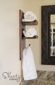 towel hanger ideas. 15 Simple And Inexpensive DIY Towel Holder Ideas Top Inspirations Regarding Bathroom Hanging Prepare 9 Hanger I