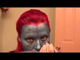 mystique x men makeup tutorial