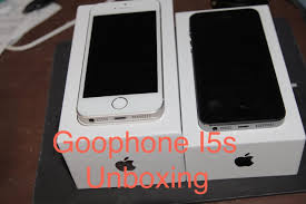 Unboxing Youtube Goophone I5s Mtk6572 Gold gTWZ7vz