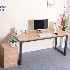 simple rounded computer desk long table conference desktop minimalist home study