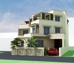 3d Front Elevation Com Pakistani Sweet Home Houses Floor Plan