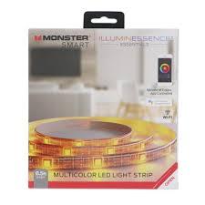 Car Led Light Strips Walmart Monster Smart Google Assistant Multicolor Led Light Strip