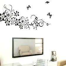 wall decals for nursery girl removable wall decal classical black flower vine home decoration wall decal decorative removable wall sticker wallpaper wall