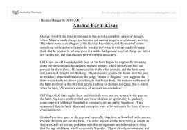 Animal Farm Essay Animal Farm Essay Writing Is Easy