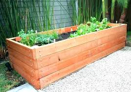 diy planter box plans cedar garden box making a vegetable planter boxes plans best stain for