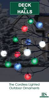 Lighted Christmas Ornaments Ball How To Make Outdoor Lighted Christmas Balls Pogot