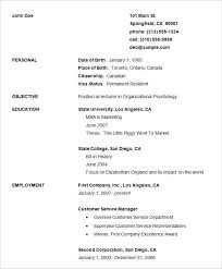Free Simple Resume Templates Custom Free Blank Resume Templates Download And Resume Template Simple Free