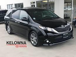 Used 2014 Toyota Sienna SE 4 Door Mini-Van Passenger in Kelowna ...