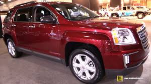 2015 gmc terrain red. Exellent Terrain 2016 GMC Terrain SLT  Exterior And Interior Walkaround 2015 New York  Auto Show YouTube Inside Gmc Red