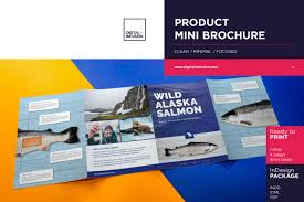 Mini Brochure Design Product Mini Brochure