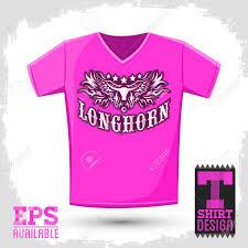 Longhorn T Shirt Designs Longhorn Western T Shirt Vector Design Rodeo Cowboy Jersey