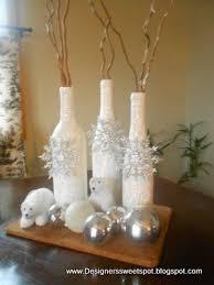 Wine Bottle Decorations Handmade Wine Bottle Christmas Decorations DIY Christmas Decor Letter 44