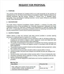 Price Proposal Template Custom Catering Proposal Template Request For Gocreatorco