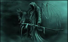 grim reaper wallpaper dark fantasy
